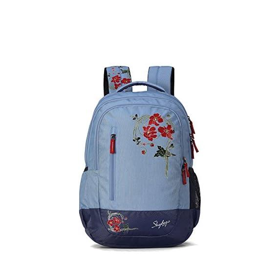 Skybags Bingo Plus 35.9856 Ltrs Blue School Backpack (SBBIP06BLU)
