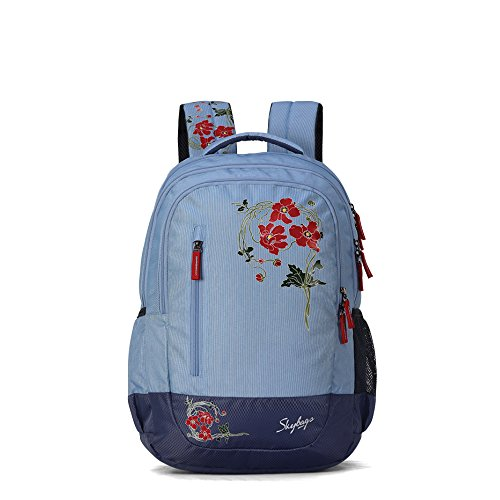 Skybags Bingo Plus 35.9856 Ltrs Blue School Backpack (SBBIP06BLU)