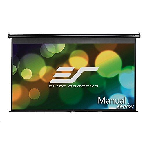 """Preisvergleich Produktbild Elite Screens """"Manual M100UWH"""" Rollo Leinwand 221,0cm x 124,5cm (BxH) 16:9 - Projektionsleinwände (2374 mm, 79,5 mm, 1513 mm, 9 kg, Schwarz)"""