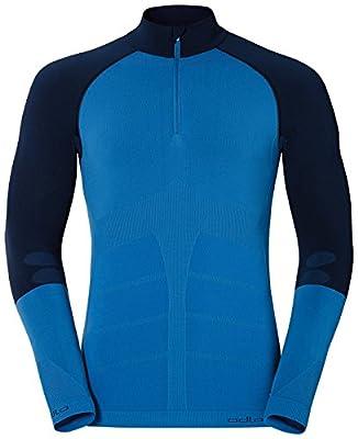 Odlo Men's Evolution Warm 1/2 Zip Seamless Warm Shirt Long Sleeve von ODLO bei Outdoor Shop