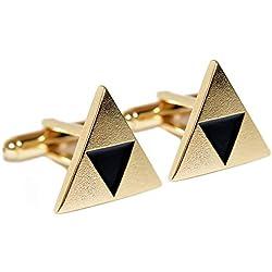 Legend of Zelda Triforce Inspirado Gemelos - ZoS (Chapado en oro)