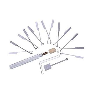 loboo GOSO Dietrich Modellierwerkzeug für Auto Bohrmulden-Kaba Lock Opener Schlosser Werkzeug