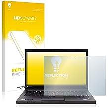 upscreen Reflection Shield Protector Pantalla Mate Lenovo ThinkPad T440s UltraBook (Touch) Película – Antireflejos, Anti-Huellas