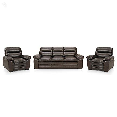Royal Oak ROYHNG708 Five Seater Sectional Sofa Set 3-1-1 (Brown)