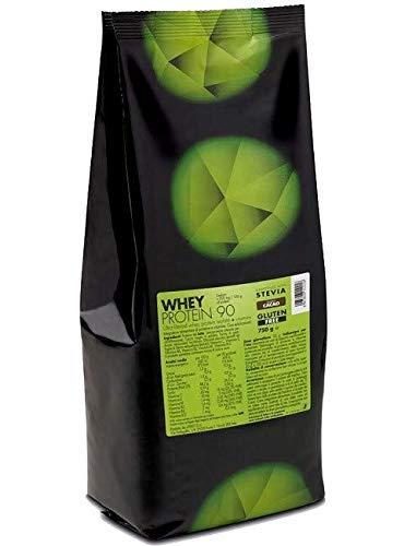 +watt whey 90 750 gr proteine del siero del latte isolate 90% qualita' volac con vitamine - busta ricarica (cioccolato)