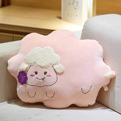 Feixiangge Plüsch Spielzeug Wolke halten Kissen Kissen halten schlafen Plüsch Puppe kleine Kissen Puppe Greifmaschine mit Nuages Roses -