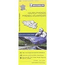Carte Hautes-Pyrénées, Pyrénées-Atlantiques Michelin de Collectif Michelin ( 1 avril 2015 )