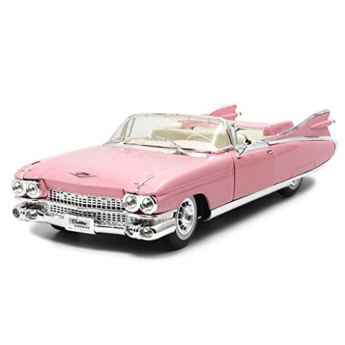 Zfggd Simulation Cadillac Oldtimer Legierung Automodell, Kinder Geschenk Toy Boy Interessantes Spielzeugfahrzeug, Maßstab 1:18