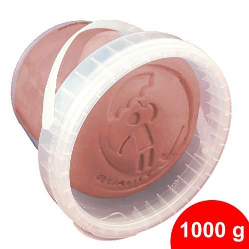 l- und Modelliermasse, 1.000 g im Wiederverschließbaren Eimer, Braun ()