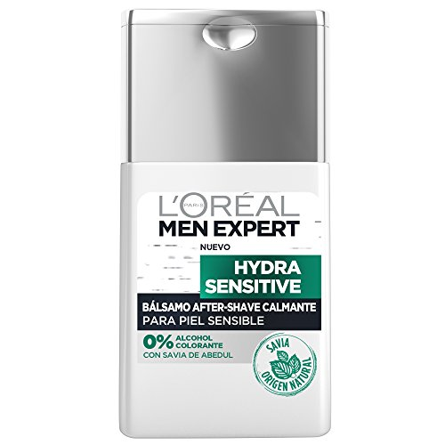 L'Oreal Men Expert Hydra Sensitive Bálsamo After-Shave Calmante para Piel Sensible - 125 ml