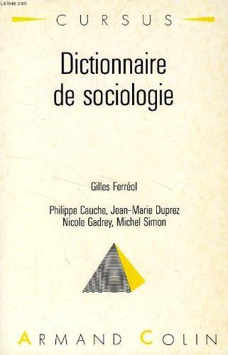 Dictionnaire de sociologie