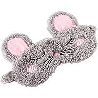 Spaufu süße Plüsch-Schlafmaske mit Cartoon-Maus-Form Augenmaske zum Schlafen, Erwachsene, Kinder, lindert Ermüdungserscheinung... preisvergleich bei billige-tabletten.eu