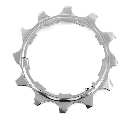 Alomejor 1 stück Hauptantrieb Single Speed Freilauf Silber 8/9/10 Geschwindigkeit 11 T 12 T Freilaufzähne für Mountainbike(8speed-12T) - 8speed Kassette