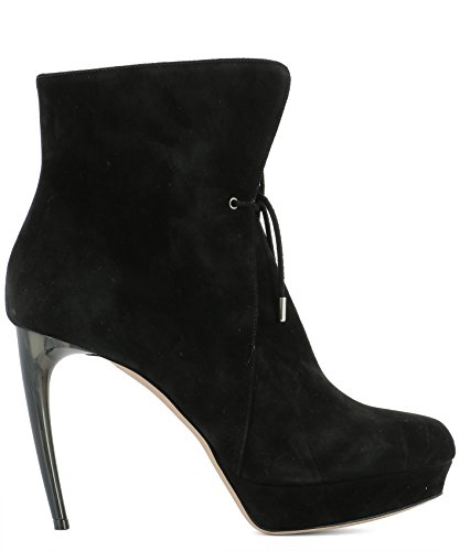 Alexander-McQueen-Womens-485840WHQV01000-Black-Suede-Ankle-Boots
