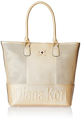 Diana Korr Womens Shoulder Bag (Gold) (DK68HGLD)
