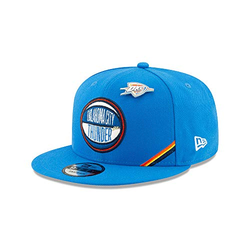 New Era - NBA Oklahoma City Thunder 2019 Draft 9Fifty Snapback Cap - Blau Größe One Size, Farbe Blau