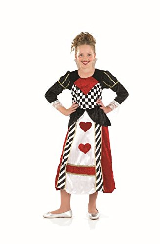 Fun Shack FNK2971XL Kostüm, Girls, Queen of Hearts, ()