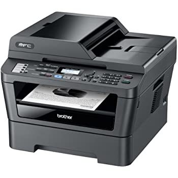 Brother MFC7860DW Kompaktes 4-in-1 Monolaser-Multifunktionsgerät (Scanner, Kopierer, Drucker, Fax, USB 2.0) schwarz