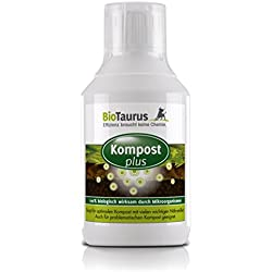 Biologisches Kompostieren mit BioTaurus Kompost plus - 0,5 L