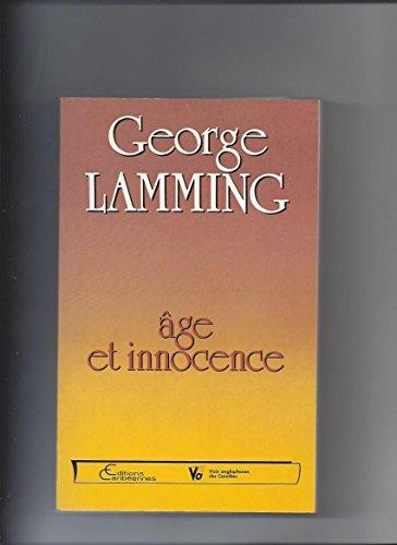 Âge et innocence (Voix anglophones des Caraïbes)