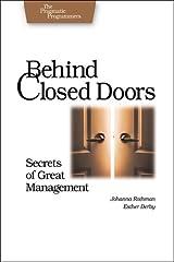 Behind Closed Doors: Secrets of Great Management Paperback