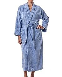 Unisex Terry Cloth Robe - 100% Egyptian Cotton Hotel/Spa by eLuxurySupply by eLuxurySupply