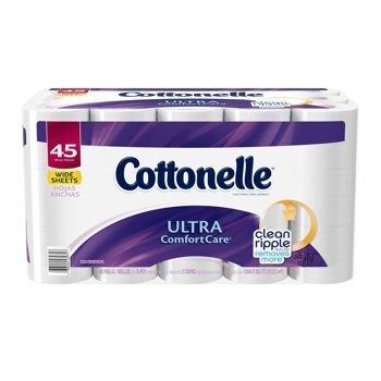 Cottonelle® Ultra Comfort Care Jumbo Roll Toilet Paper, 45 Rolls
