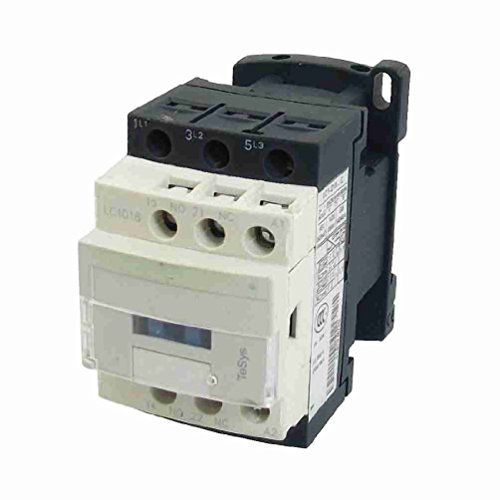 Price comparison product image Move&Moving(TM) 380V Coil Motor Controller AC Contactor 3 Pole NO N / O 690V 10KW LC1D18 Q7C