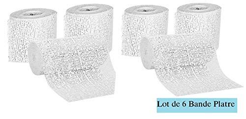 EMI Craft - Vendaje de Yeso de París de 8cm x 3m...