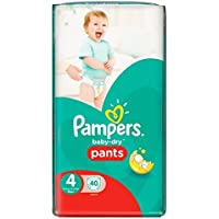 Pampers Baby Dry Lot de 40 couches Taille 4