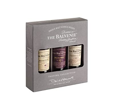 Balvenie Mini Mixed Pack 12/ 14 Year Old Caribbean Cask/ 17 Year Old Doublewood Whisky 5 cl (Pack of 3)