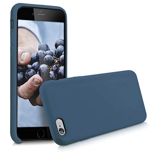 e 6 / 6S Hülle - Handyhülle für Apple iPhone 6 / 6S - Handy Case in Dunkelblau ()