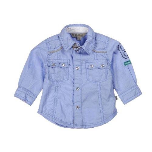 Kanz Baby - Jungen Hemd 1322557, Gr. 62, Blau (3094)