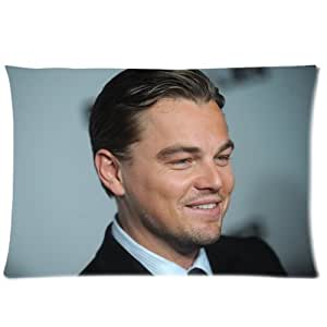 Coutume Leonardo DiCaprio Pillowcase Taie D'oreiller 20x30 ( One Side Design ) 8487