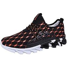 QUICKLYLY Zapatillas Deportivas Deporte Hombres Zapatos Calzado Ocio Al Aire Libre para Correr Estudiantes del Campus