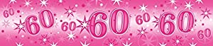 Pioneer Europe- Pancarta de fiesta, Color rosa (45564)