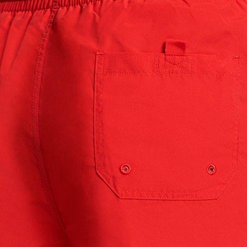 Zoggs Herren Penrith Shorts Hot Red