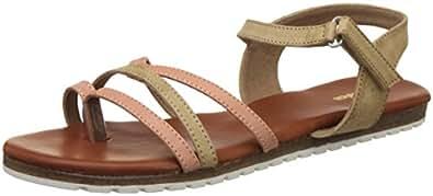 BATA Women's Lana Tan Fashion Sandals - 4 UK/India (37 EU)(5613038)