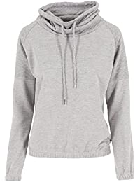 Urban Classics Pullover Quilt High Neck Crew-suéter Mujer