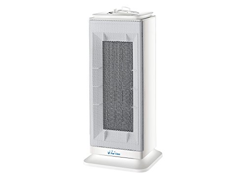 Potente e Silenzioso Due livelli di riscaldamento regolabili 750 1500 W PURLINE HOTI F20 Termoventilatore Termoconvettore