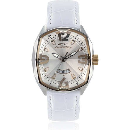 Orologio Donna CHRONOTECH FORCE RW0053 Pelle Gold Bianco