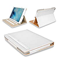 MOFRED® New White & Tan Apple iPad Pro 12.9