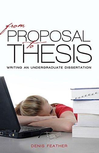 Undergraduate dissertation proposal