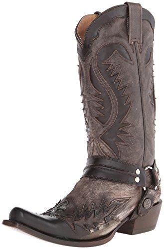 Stetson Men's Snip Toe Harness W/ Bleach Boot -