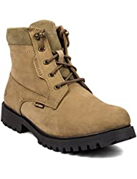 Woodland Casual Leather Boots For Men