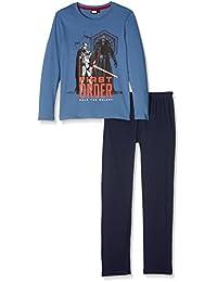 Star Wars-The Clone Wars Darth Vader Jedi Yoda Jungen Pyjama Schlafanzug 2016 Kollektion - blau