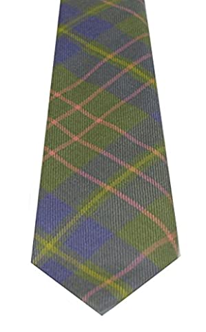 Lochcarron of Scotland Cameron Hunting Ancient Tartan Tie