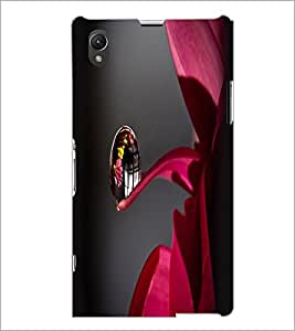 PrintDhaba Droplet D-2399 Back Case Cover for SONY XPERIA Z1 (Multi-Coloured)