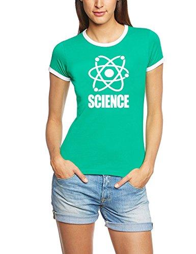 Science T-Shirt Green RIGI DAMEN RINGER Gr.S -