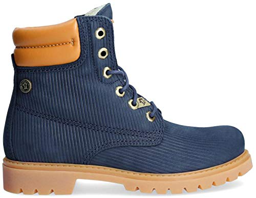 PANAMA JACK Damen Winterstiefel Panama 03 Wool,Frauen Winter-Boots,Fellboots,Fellstiefel,gefüttert,Warm,Wasserabweisend,Zusätzlicher Baumwollbeutel Enthalten,Dunkelblau,EU 38 - Navy-reitstiefel